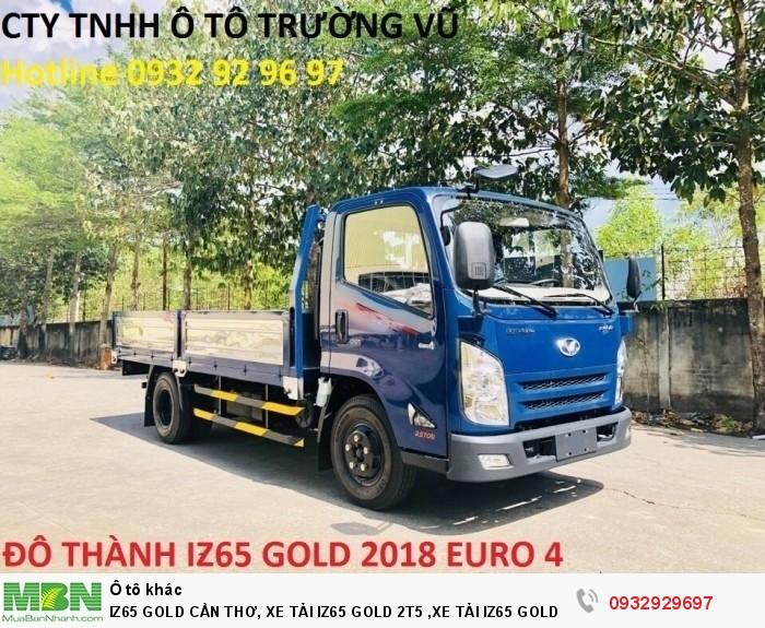 Iz65 gold cần thơ, xe tải iz65 gold 2t5 ,xe tải iz65 gold cần thơ, xe tải iz65 cần thơ 1