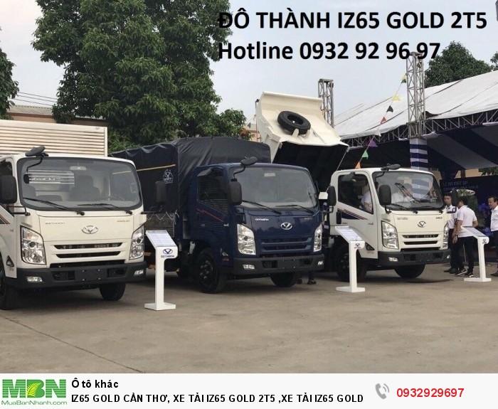 Iz65 gold cần thơ, xe tải iz65 gold 2t5 ,xe tải iz65 gold cần thơ, xe tải iz65 cần thơ