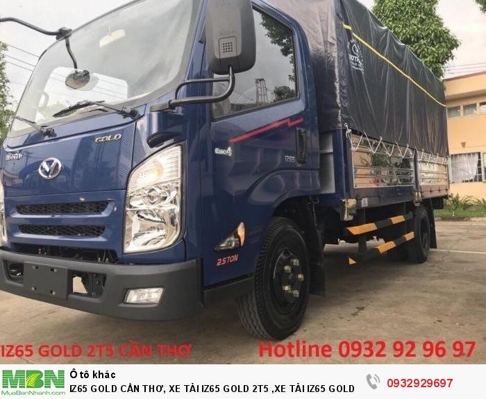 Iz65 gold cần thơ, xe tải iz65 gold 2t5 ,xe tải iz65 gold cần thơ, xe tải iz65 cần thơ 5