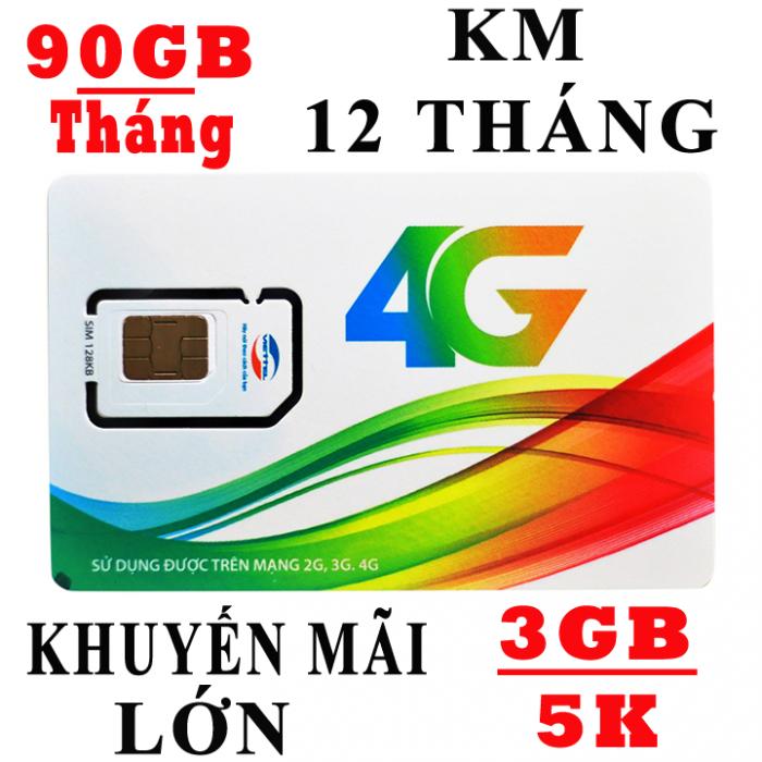 Sim 3G 4G Viettel Tặng 90GB/ tháng - Tốc Độ Cao2