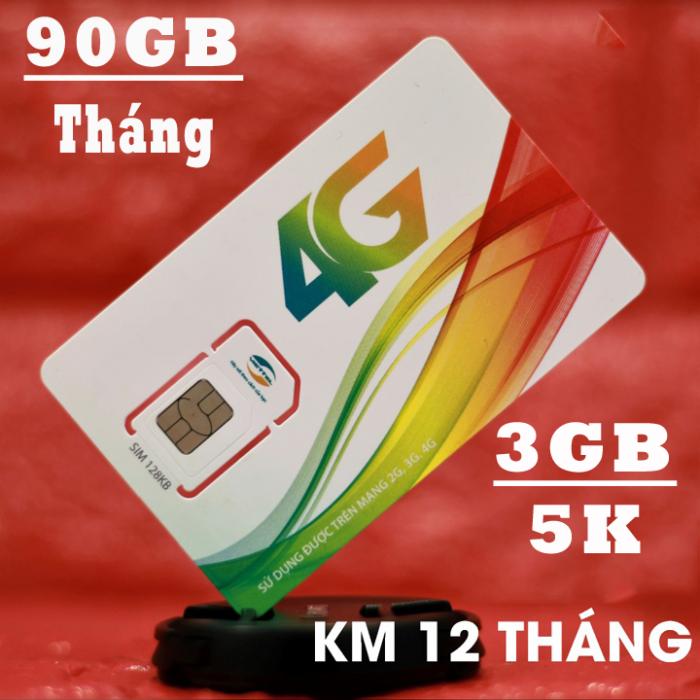 Sim 3G 4G Viettel Tặng 90GB/ tháng - Tốc Độ Cao1