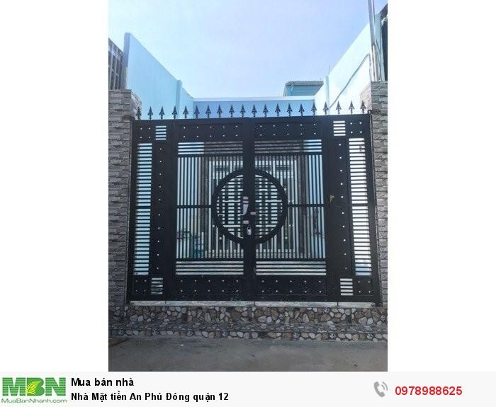 Nhà Mặt tiền An Phú Đông quận 12