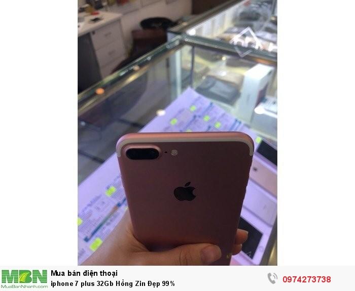 Iphone 7 plus 32Gb Hồng Zin Đẹp 99%2