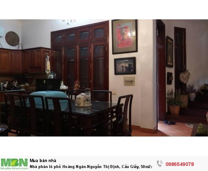 Nhà phân lô phố Hoàng Ngân-Nguyễn Thị Định, Cầu Giấy, 50m2x4T, lô góc, kinh doanh tốt, 7.68 tỷ.