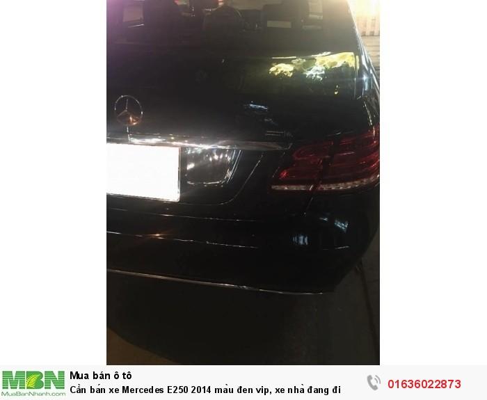 Cần bán xe Mercedes E250 2014 màu đen vip, xe nhà đang đi