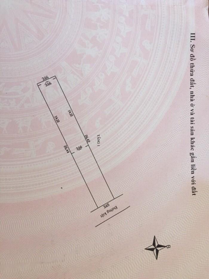 Cần tiền bán gấp miếng đất kiệt 87 Nguyễn Lương Bằng