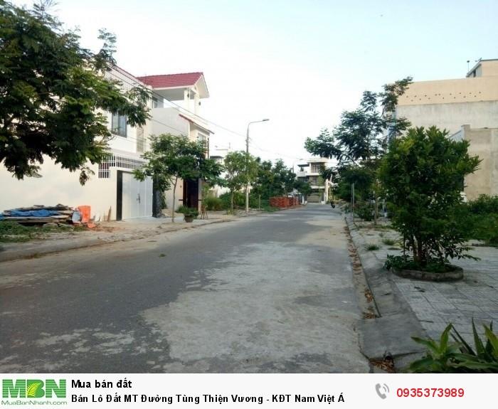 Bán Lô Đất MT Đường Tùng Thiện Vương - KĐT Nam Việt Á