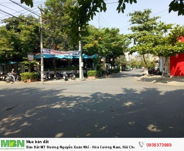 Bán Đất MT Đường Nguyễn Xuân Nhỉ - Hòa Cường Nam, Hải Châu