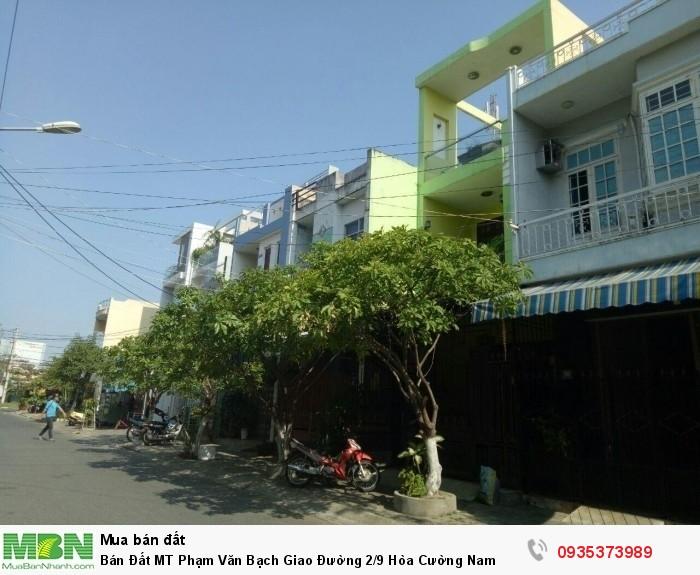 Bán Đất MT Phạm Văn Bạch Giao Đường 2/9 Hòa Cường Nam