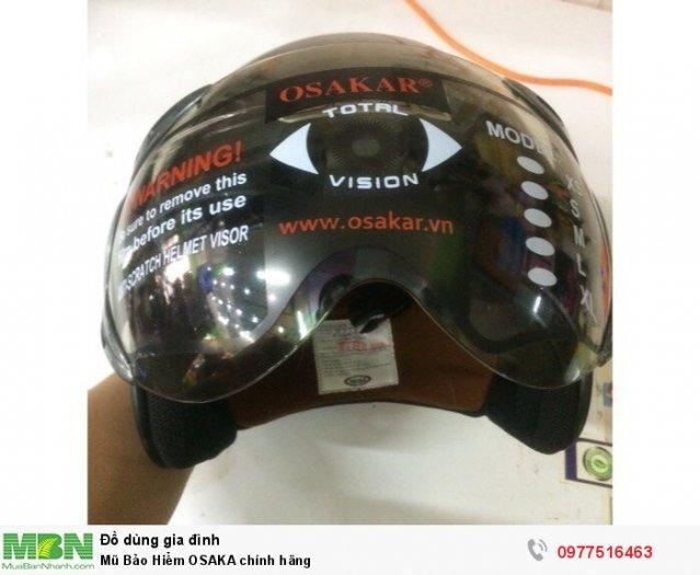 Mũ Bảo Hiểm OSAKA chính hãng 0