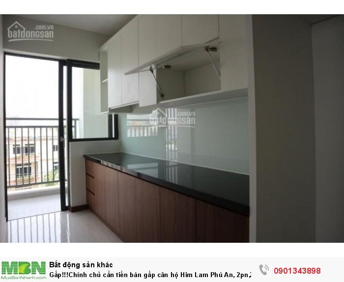 Gấp!!!Chính chủ cần tiền bán gấp căn hộ Him Lam Phú An, 2pn,2wc, Sắp nhận nhà. Gía rẻ.