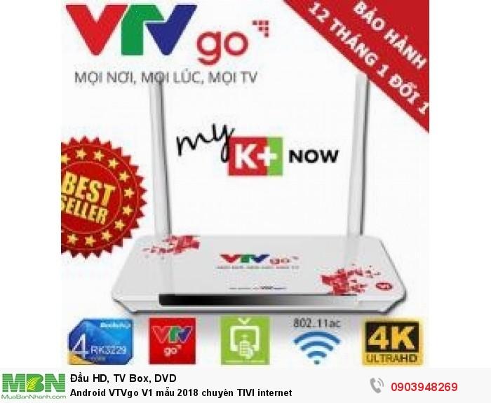 Trọn bộ gồm có: Đầu VTVgo, nguồn adapter, remote, dây HDMI, dây AV, hướng dẫn sử dụng
