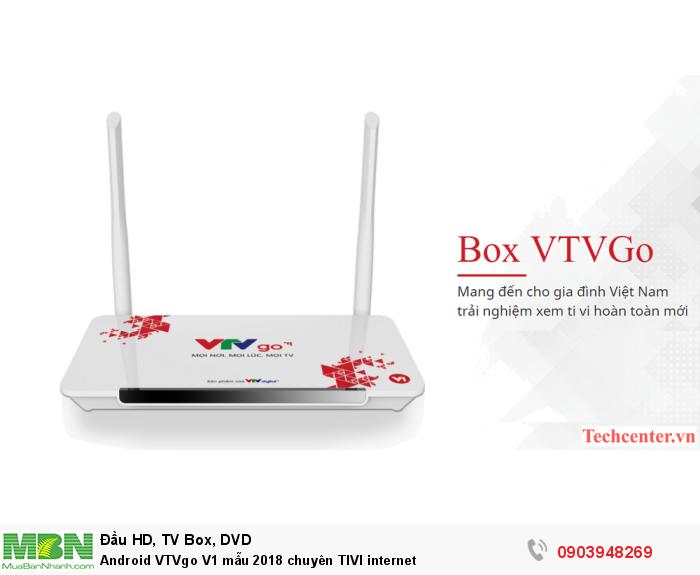 VTVGO V1 hình dáng nhỏ gọn, sang trọng và bắt mắt. được làm từ chất liệu nhựa tổng hợp, màu trắng