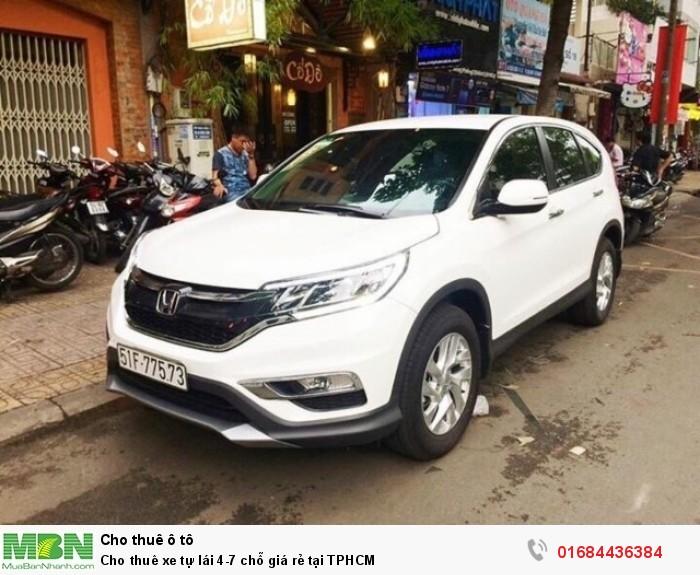 Cho thuê xe tự lái 4-7 chỗ giá rẻ tại TPHCM