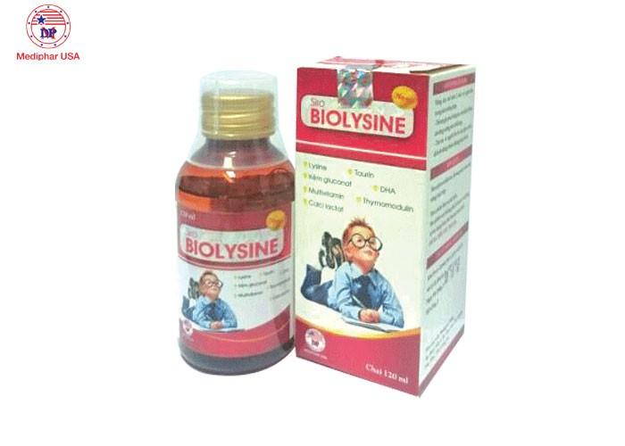 Sirô BIOLYSINE chai 120ml0