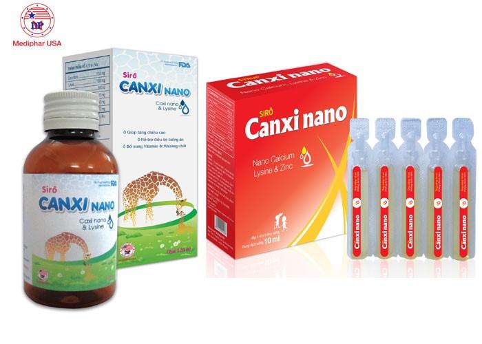 Sirô CANXI NANO - Bổ sung canxi và vitamin, hỗ trợ phát triển hệ xương trong cho trẻ nhỏ2