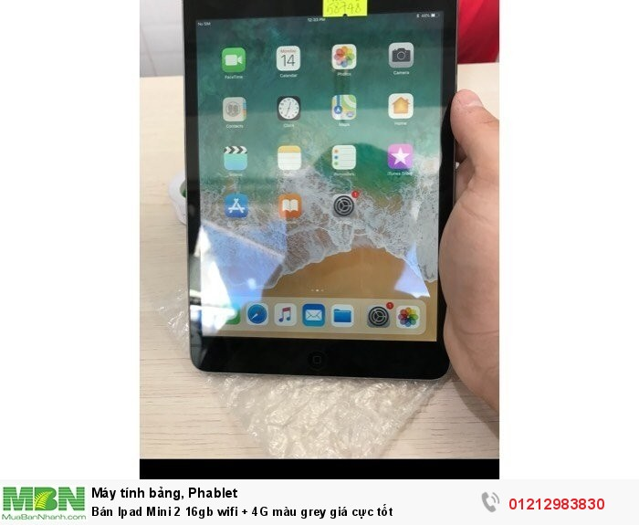 Bán Ipad Mini 2 16gb wifi + 4G màu grey giá cực tốt0