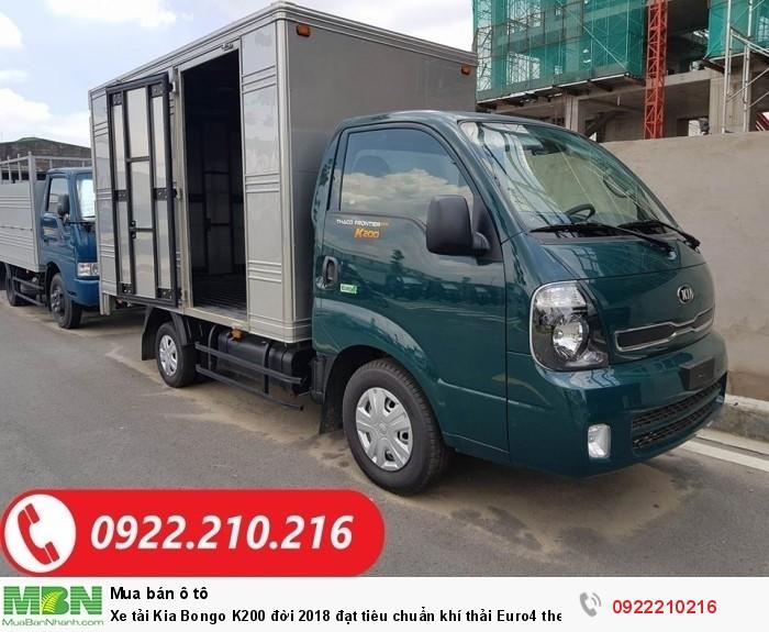 Xe tải Kia Bongo K200 động cơ E4 đời 2018, mới 100%. Hỗ trợ vay ngân hàng.