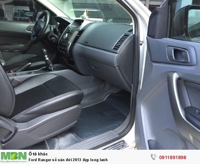 Ford Ranger số sàn đời 2013 đẹp long lanh 3