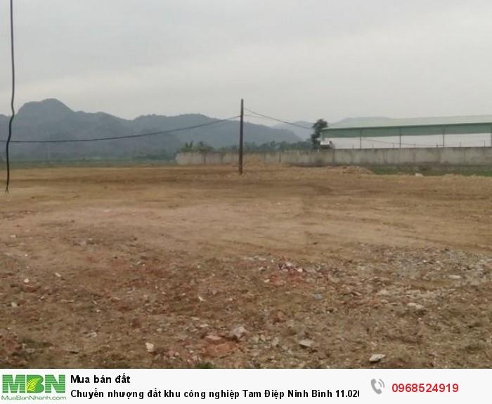 Chuyển nhượng đất khu công nghiệp Tam Điệp Ninh Bình 11.020m2 đã san nền có tường bao