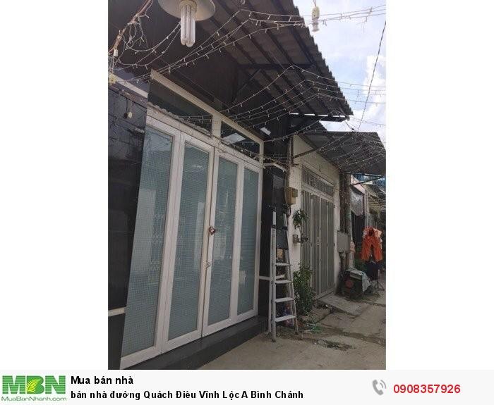 bán nhà đường Quách Điêu Vĩnh Lộc A Bình Chánh