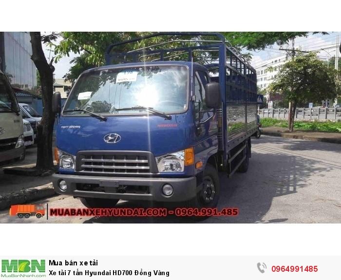 Xe tải 7 tấn Hyundai HD700 Đồng Vàng 2