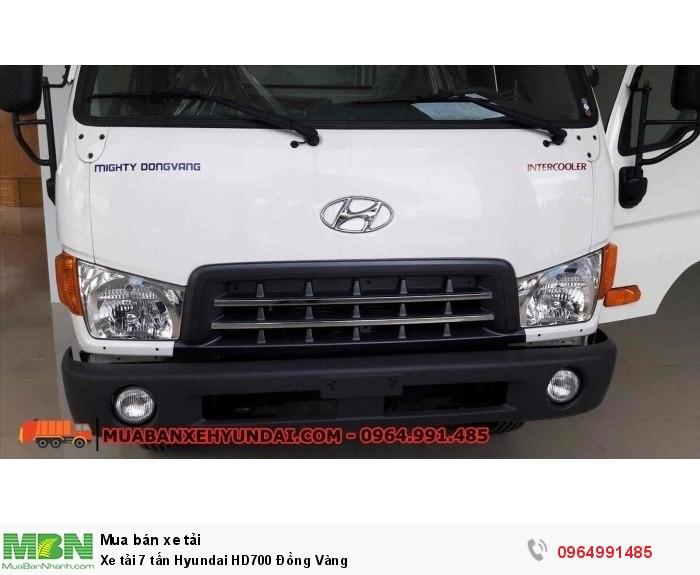 Xe tải 7 tấn Hyundai HD700 Đồng Vàng 4