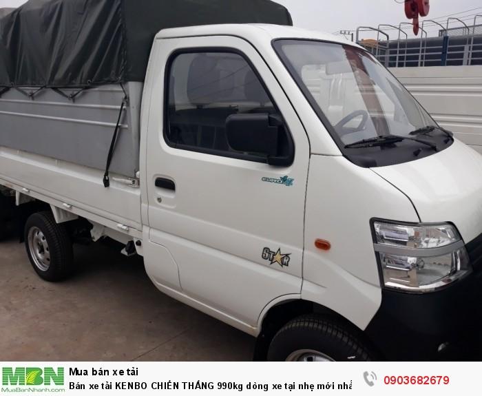 Bán xe  tải KENBO CHIẾN THẮNG 990kg dòng xe tại nhẹ mới nhất 2018