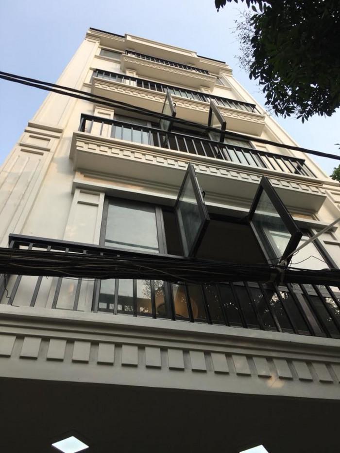 Bán nhà mặt ngõ Trích Sài ,Võng Thị,Tây Hồ, dt 56m2x6tầng mới cực đẹp ngõ thông KD