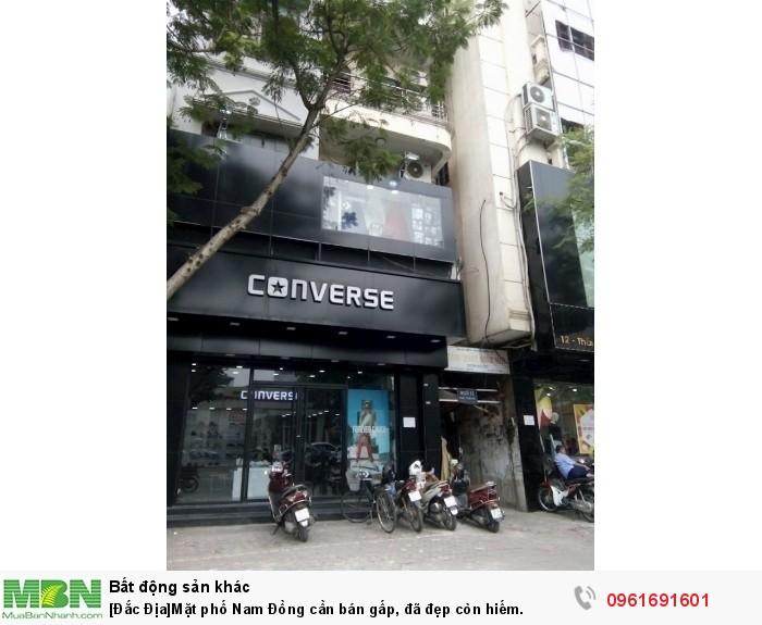 [Đắc Địa]Mặt phố Nam Đồng cần bán gấp, đã đẹp còn hiếm.