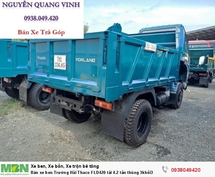 Bán xe ben Trường Hải Thaco FLD420 tải 4.2 tấn thùng 3khối3 7