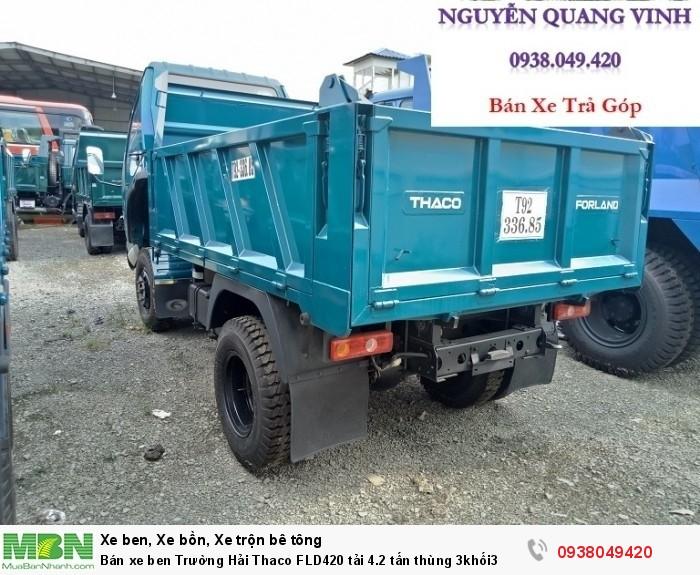 Bán xe ben Trường Hải Thaco FLD420 tải 4.2 tấn thùng 3khối3 8