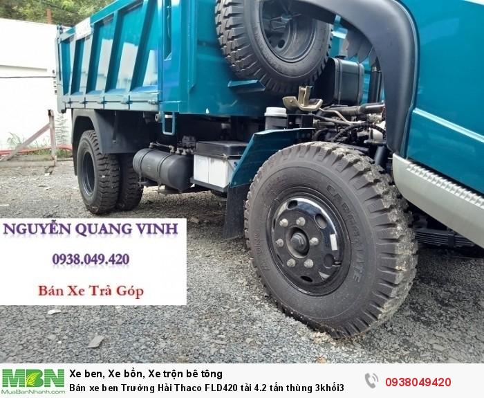 Bán xe ben Trường Hải Thaco FLD420 tải 4.2 tấn thùng 3khối3 10