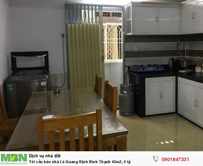 Tôi cần bán nhà Lê Quang Định Bình Thạnh 44m2, 4 tỷ