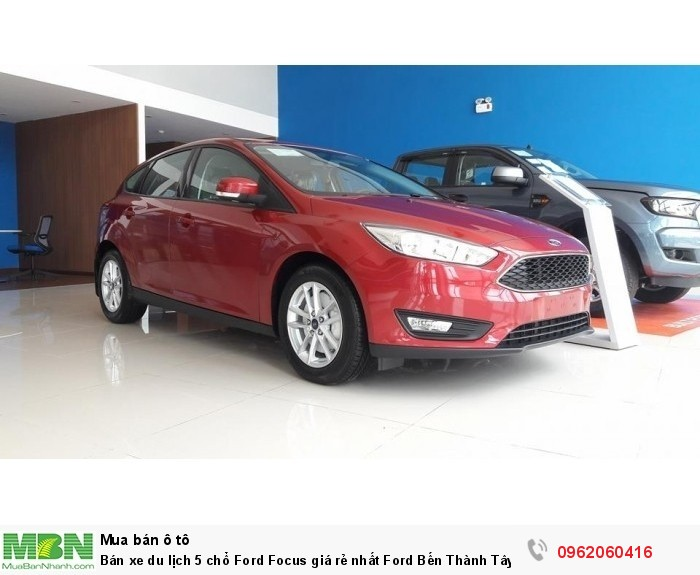 Bán xe du lịch 5 chổ Ford Focus giá rẻ nhất Ford Bến Thành Tây Ninh, giảm tiền mặt tặng phụ kiện