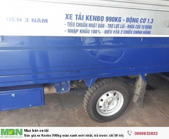 Kenbo sản xuất năm 2018 Số tay (số sàn) Xe tải động cơ Dầu diesel