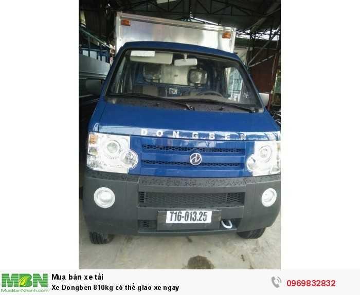 Xe Dongben 810kg có thể giao xe ngay 0