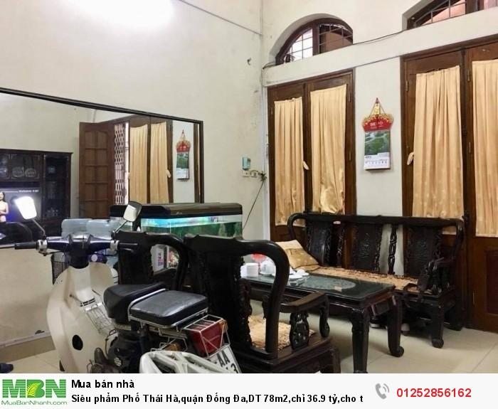 Siêu phẩm Phố Thái Hà,quận Đống Đa,DT 78m2, cho thuê 70 triệu/tháng