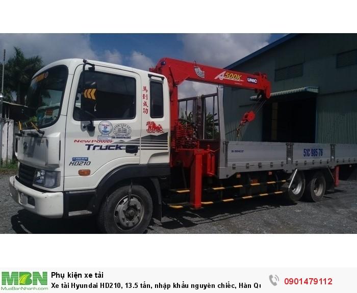 Xe tải Hyundai HD210, 13.5 tấn, nhập khẩu nguyên chiếc, Hàn Quốc Mới !!! 1