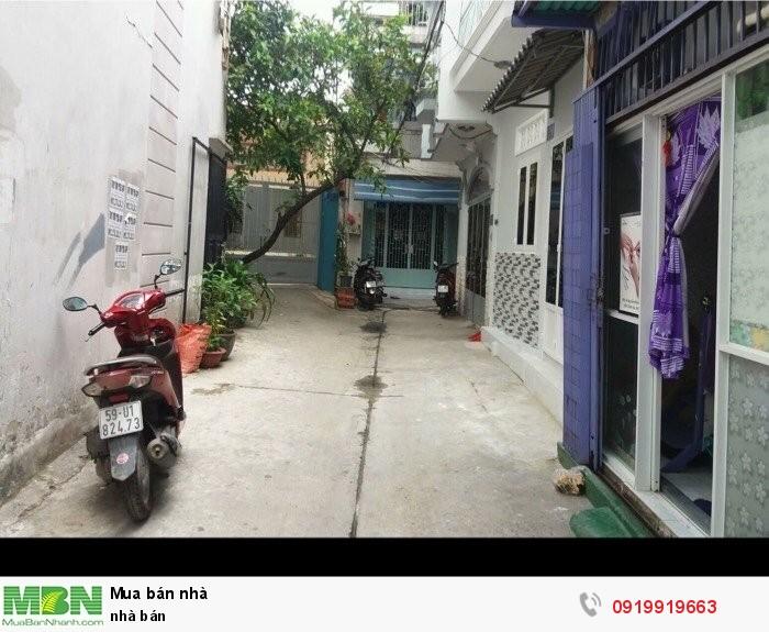 Nhà bán Trương Đăng Quế, Gò Vấp.