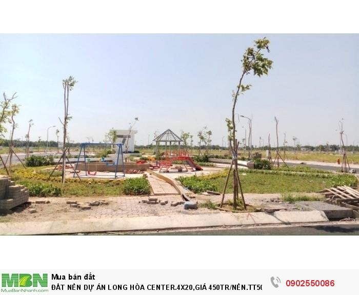 Đất Nền Dự Án Long Hòa Center.4x20, Nền.Tt50%
