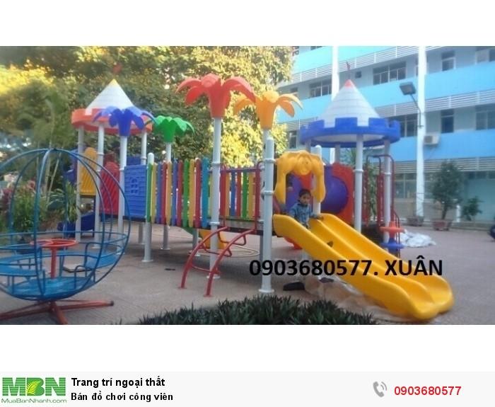 Bán đồ chơi công viên0