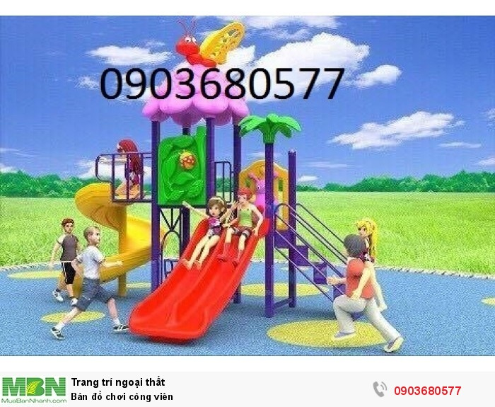 Bán đồ chơi công viên1
