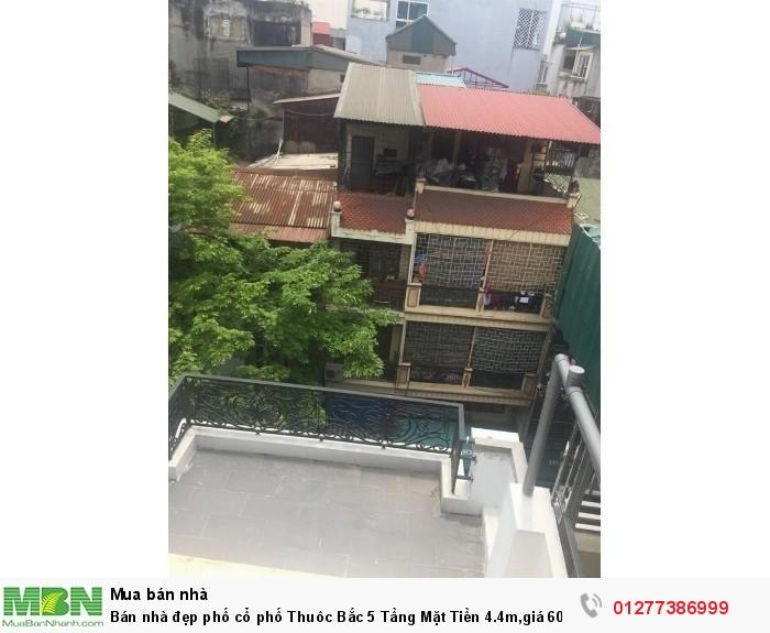 Bán nhà đẹp phố cổ phố Thuôc Bắc 5 Tầng Mặt Tiền 4.4m,giá 60 Tỷ