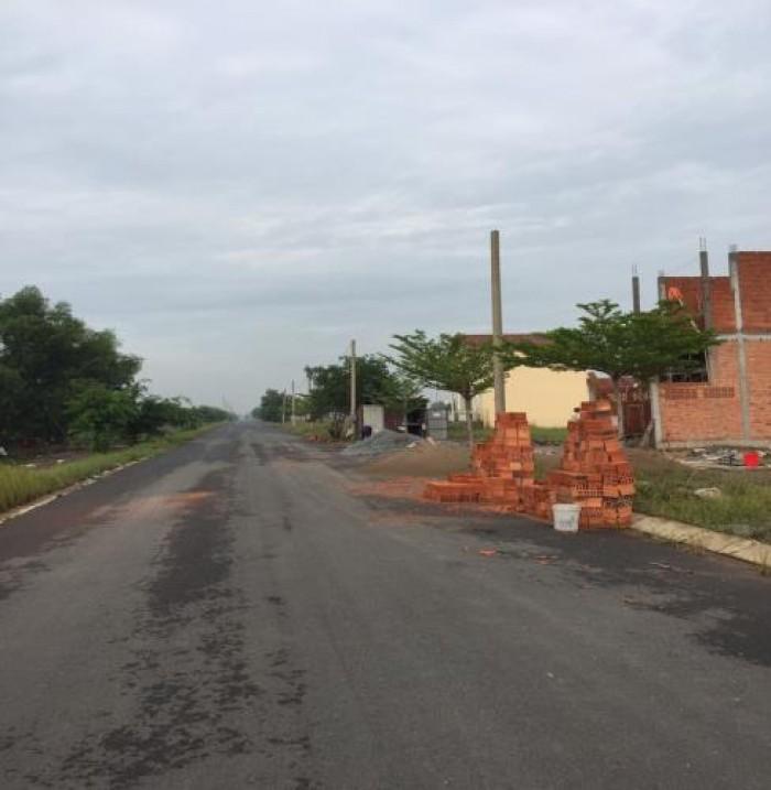 Bán đất Bình Chánh gần chợ, Dân cư hiện hữu, gần KCN, SHR