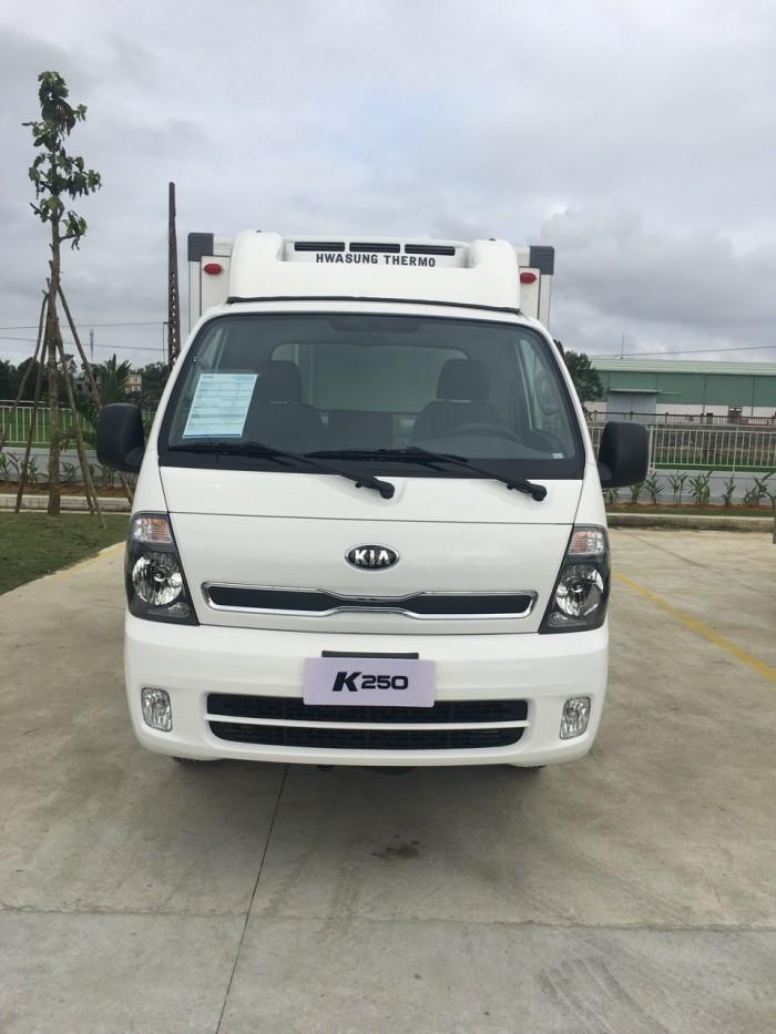 Xe tải THACO KIA K250 2,4 tấn, vào thành phố, hỗ trợ trả góp 75%, thủ tục nhanh chóng, hiệu quả đầu tư cao