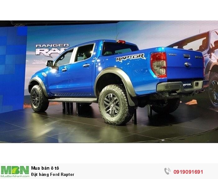 Ford Raptor 2018 xanh, trắng giao ngay