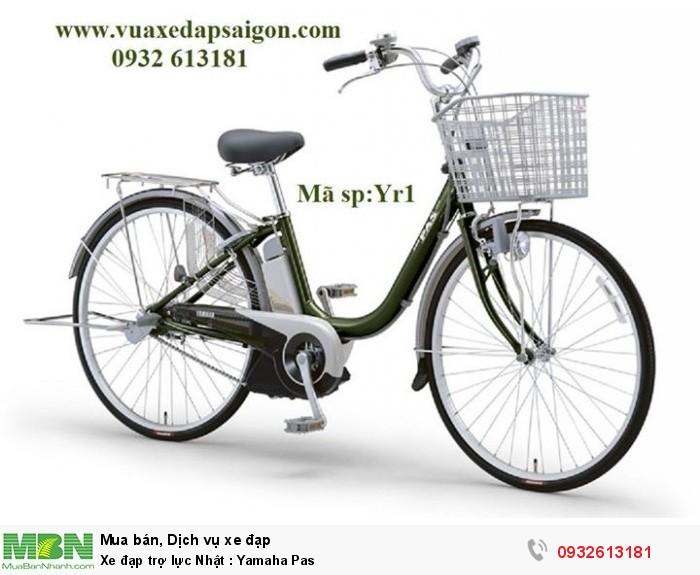 Xe đạp trợ lực Nhật : Yamaha Pas