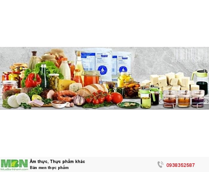 Bán men thực phẩm
