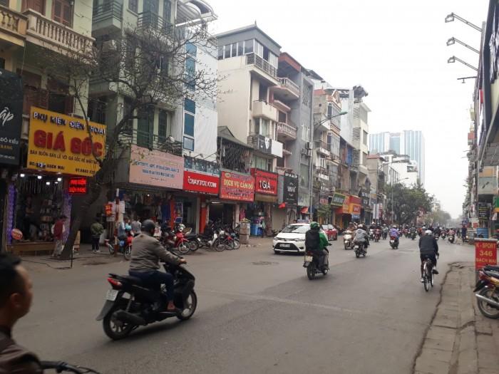 Bán đất mặt phố Trần Đại Nghĩa Hai Bà Trưng diện tích 120m2, mặt tiền 5m, kinh doanh cực tốt